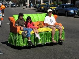 Sofa car at the 2006 How Berkeley festival