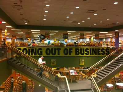Borders going out of business